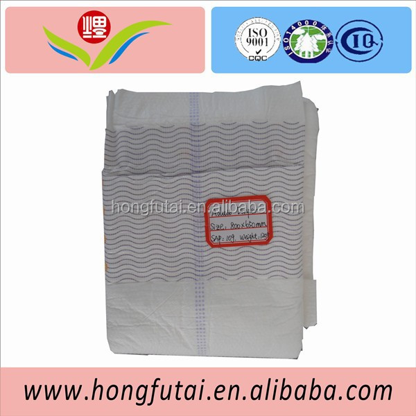 10pcs Colorful Packing Ultra Thick Adult Diaper