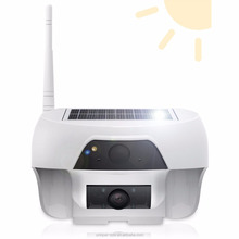 Solar Powered Wireless Outdoor WIFI Security Solar Camera System With Night Vision, Motion Detection, Audio, Remote Control