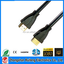 High quality HDMI 3D cable with etnernet HD2160P 3D 4K for HDTV ps3