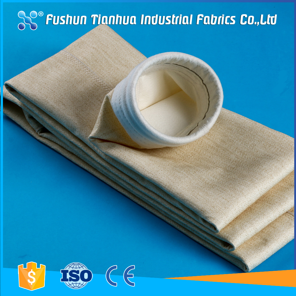 Chinese supplier air filter baghouse Nomex bag filter