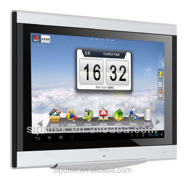 new product 10 inch capacitive touch screen tcp ip outdoor doorbell video door phone indoor monitor for house
