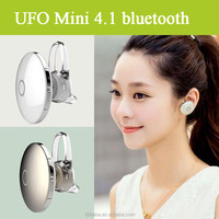 Super Small Wireless Earphone Headphone Stereo Handsfree UFO Mini Bluetooth Headset Universal for All Phone