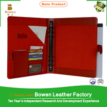 TYWEN - 0025 leather document folders for office / new conference folders with ring binder / popular a3 size file folders
