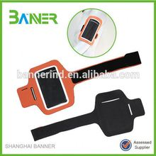 Fancy Armband Mobile PU Adjustable Sports Phone Pouches For Girls
