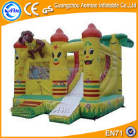 Funny spongebob inflatable bounce house combos inflatables commercial
