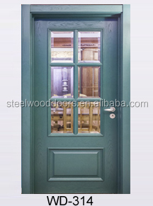 Hotel House Main Carving Design Door Wood
