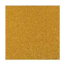 INTERWELL CBT26 Gold Glitter Paper, Craft Self-Adhesive Glitter Scrapbook Paper