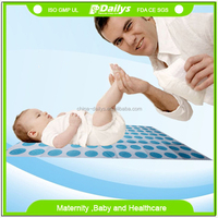 OEM size pattern disposable foldable diaper changing mat for baby