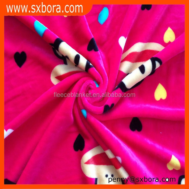 BAOLAI manufactory wholesale flannel fleece fabric