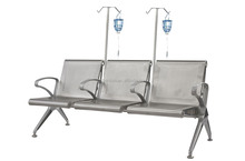 steel Patients waiting bench, hospital waiting chair