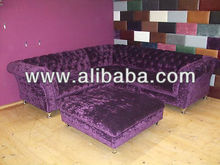 Luxurious n Classic sectional Velvet Sofa