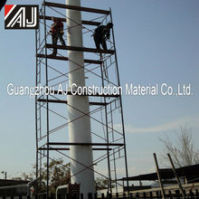 Portable Tubular Steel Scaffolding Frame for Construction Projects(Made in Guangzhou,China )