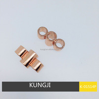 Gold color TOGGLE BUTTON FOR GARMENT ACCESSORIES 3 holes