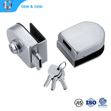 L-254 China Hardware Key Switches Doors Locks Glass Door U Shape Door Lock