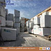 Italy carrara bianco white marble block and slab