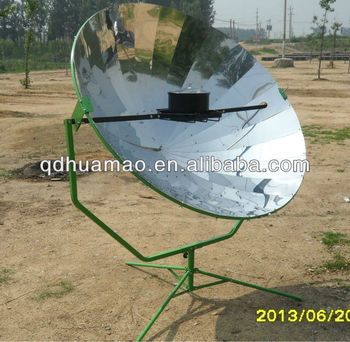 high-quality and high-performance parabolic solar cookers