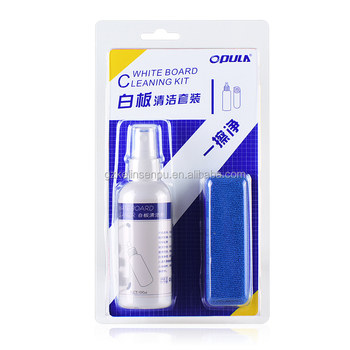 New arrival OPULA whiteboard cleaning set with MSDS
