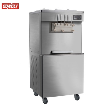 5 flavor used Soft ice cream machine for making cone ice cream