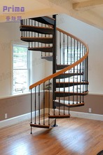 Affordable Timber Steps Spiral Staircase home design