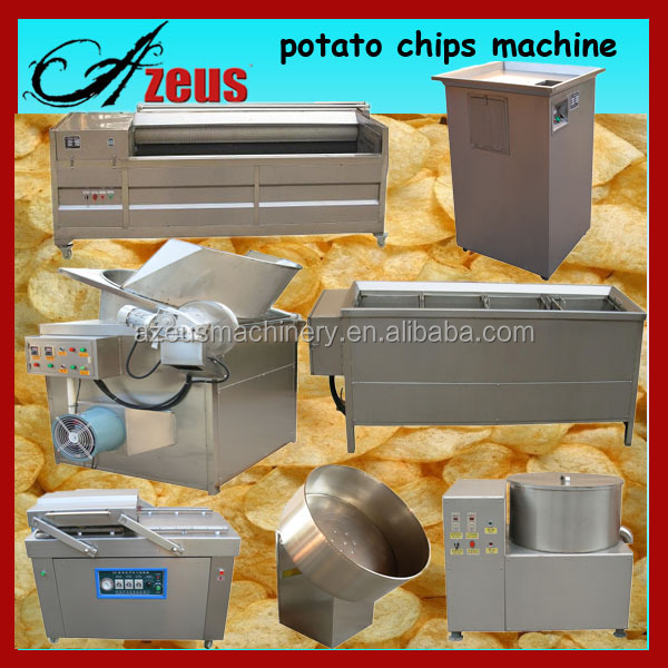 China Supplier Semi And Fully Automatic Pringles Chips Production Line