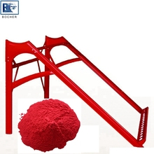 RAL Red anti UV powder coating for solar bracket