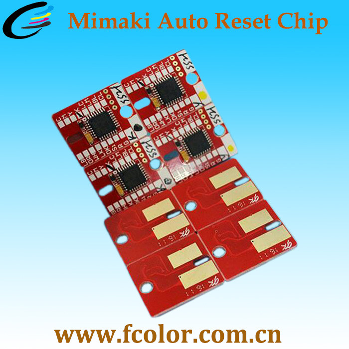 Automatic Reset UV Ink Cartridge Chip lf-140