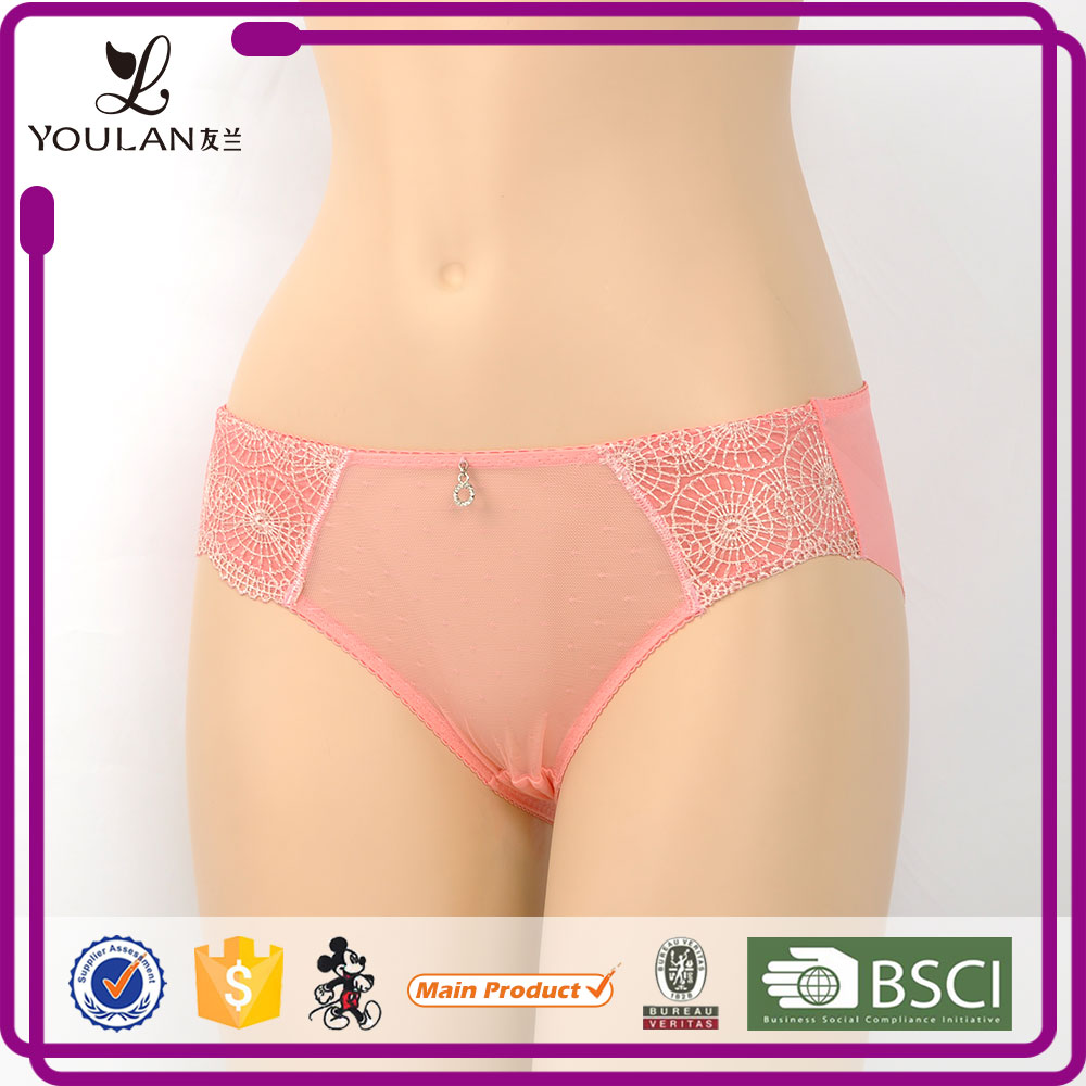 New Elegant 3D hollow Lace Cute Girl Teen Girls Sexy Lingerie Panty