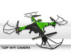 Wholesale smart phone control WIFI 2.4g rc fpv drone with camera