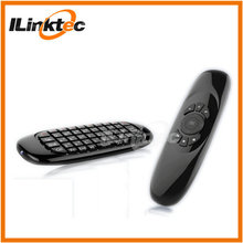 Professional manufacturer for mini wireless keyboard and mouse air fly mouse keyboard