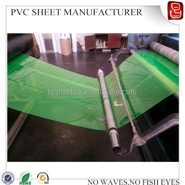 2015 Reach 3x6 feet screnn printing transparent pvc sheets