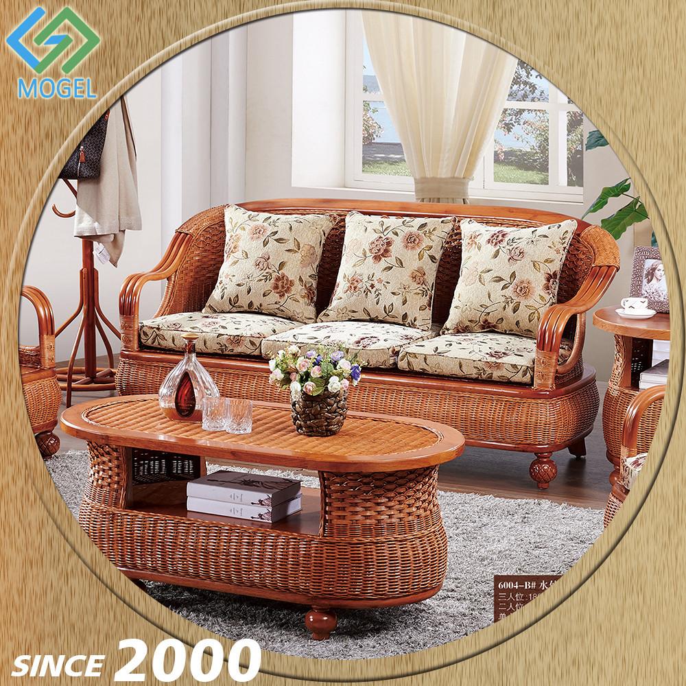 Living room home furniture wooden hand carved arabic furniture live edge design concept