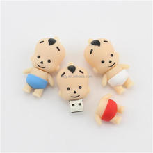 soft pvc kids usb stick personalized kids usb flash drives for promotional