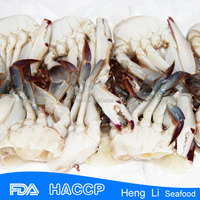 Health Certificate Frozen Cut Crab