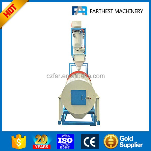 Vitamin Coater For Crab Feed Production