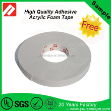HOT SALE Double sided Tape Acrylic Foam Adhesive Tape for glass