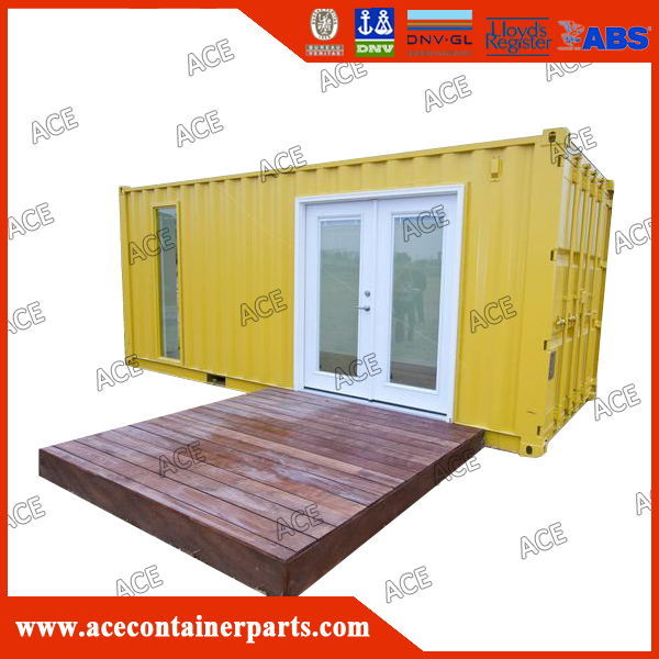 Customized design new living 20ft 40ft container house price
