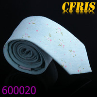 Colored stripe woven printing necktie