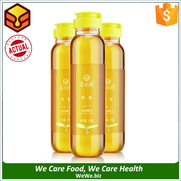 418g Bulk Price Mature Organic Natural Acacia Raw Honey Factory OEM