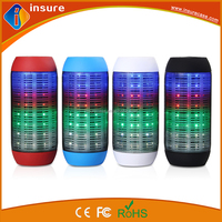 2016 new design portable wireless mini led bluetooth speaker with long tandby time
