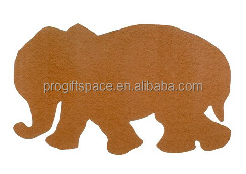 2017 new hot China product custom animal fabric home decor wall ornament wholesale felt craft elephant shapes in Russian alibaba