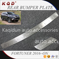 Brand new Perfect fit Stainless steel rear bumper plate for fortuner accessories fortuner 2016 body kits