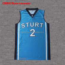 Best design dry fit tight fit sleeveless basketball shirt