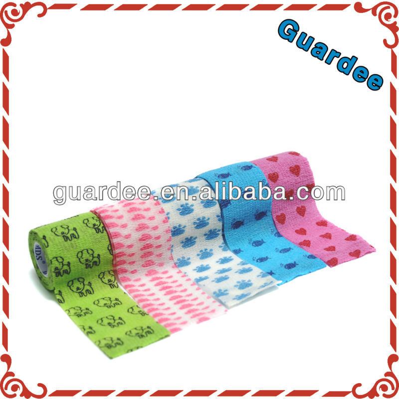 Medical controlled support and compression Bandage