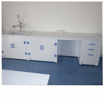 TOP quality&competitive price Laboratories PP furniture lab bench side pp table cabinet customize