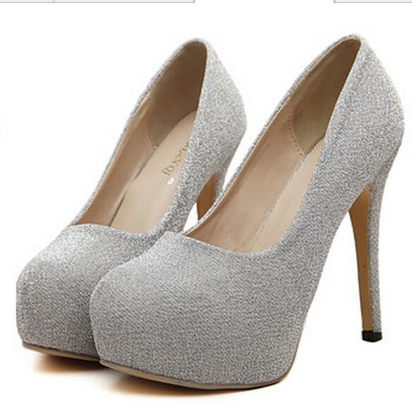 60fd805403d9 Get Quotations · 2015 Summer Ladies High Heel Platform Shoes Women Pumps  Brand Girl Party Dress Shoes Fashion Ladies