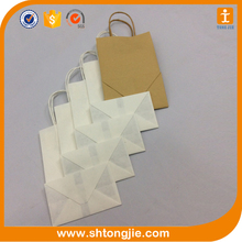 china offset printing manufacture hot sales shopping handbag wholesale cheap kraft paper bag