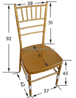 Metal Cheap Used Wholesale Chiavari Chair/ Wedding Chair/node chair