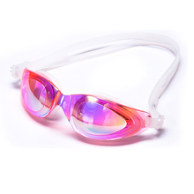 Customized color coated swim goggles Adult promotional Swimming Eyewear