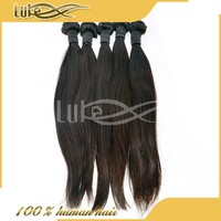 100 Grams 100% full cuticle straight hair real tangle free brazilian virgin human hair weave