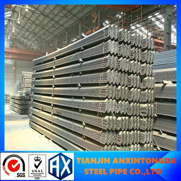 standard size of mild steel angle!high quality galvanized 50x50x5 angle bar